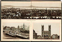New Album of Montreal Views - Canadian Railway News circa 1885