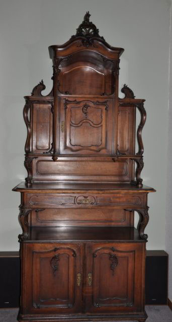 Victorian Sideboard With Applied Ornamentation