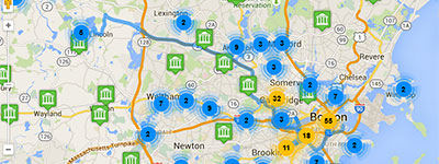 Trip Planner - Boston Area Museums