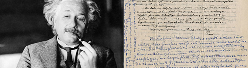 Albert Einstein's Personal and Intimate Letters Sold At Auction