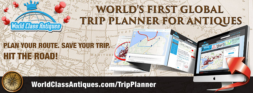 Antiques Trip Planner - Plan your route. Save your trip. Hit the road.